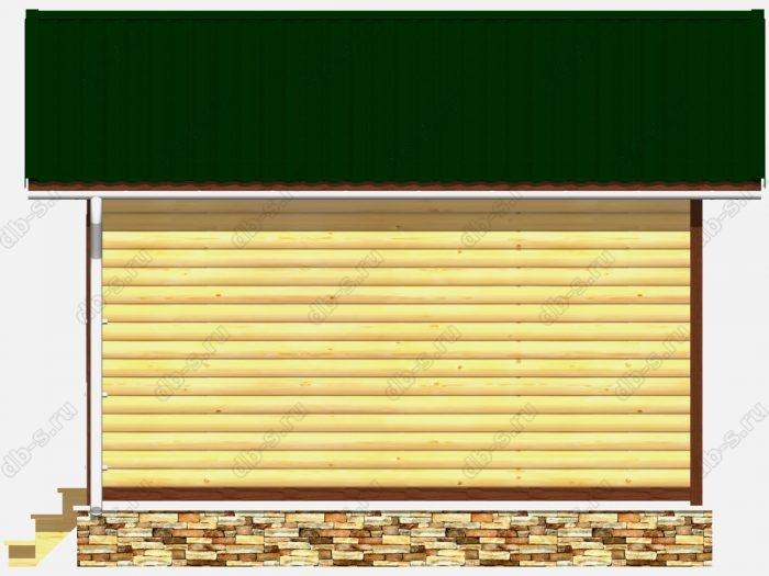 Деревянная баня 5 на 5 с отделкой под ключ
