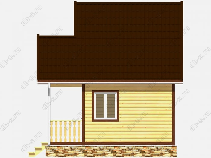 Строительство каркасных бань 5х4