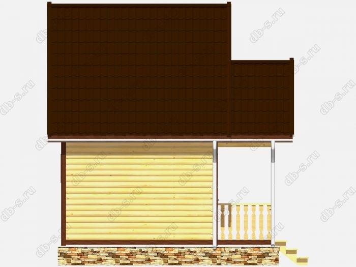 Деревянная баня 5 на 4 с отделкой под ключ