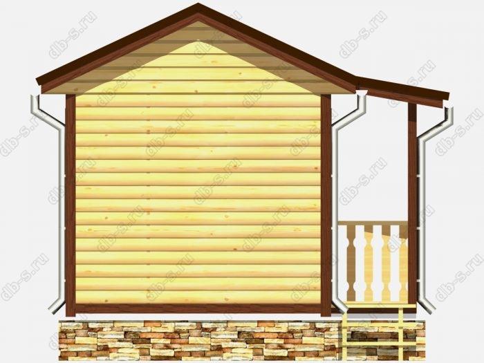 Деревянная баня 6 на 3 с отделкой под ключ