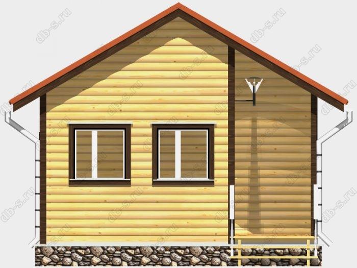 Деревянная баня 5 на 6 с отделкой под ключ