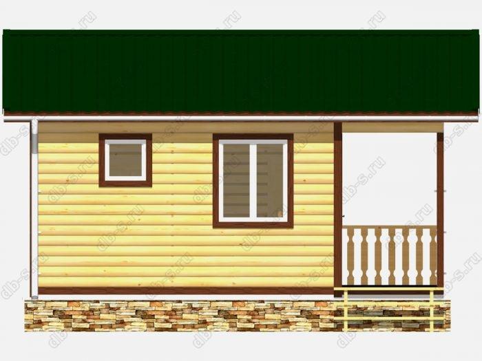 Деревянная баня 6 на 4 с отделкой под ключ