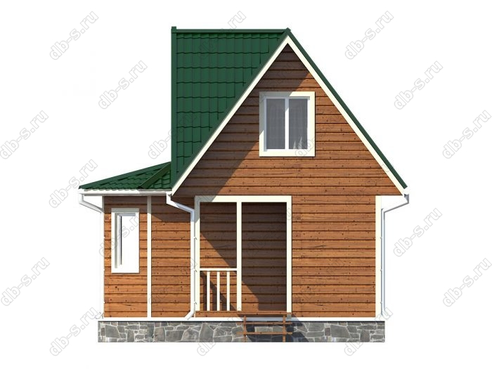 Строительство каркасных домов 6х6 под ключ