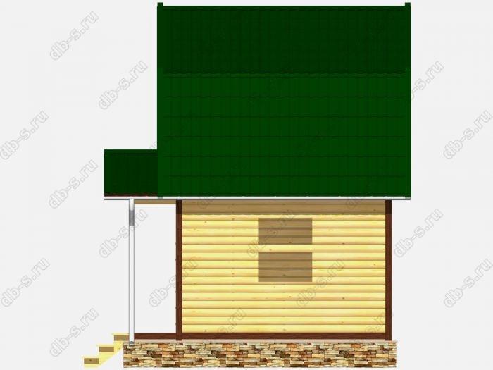 Сруб дома 5х4 ломаная крыша вальмовая крыша
