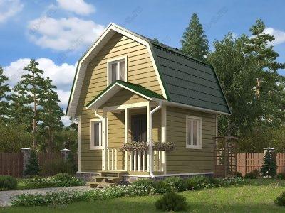 Каркасный дом 5х4 проект К13