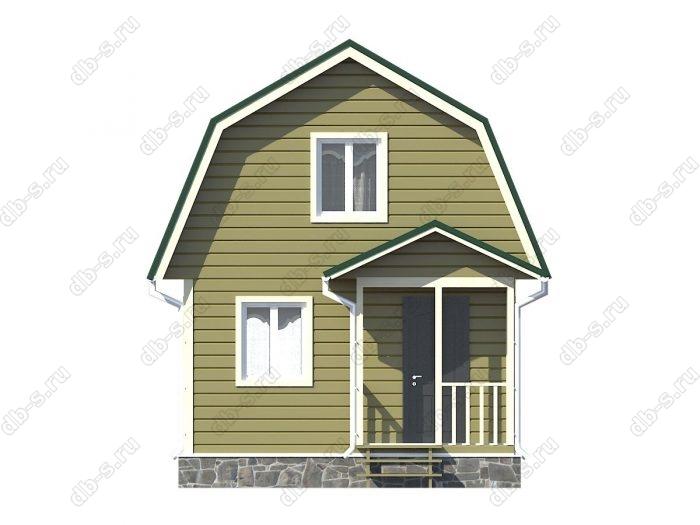 Фото каркасного дома под ключ 5 на 4