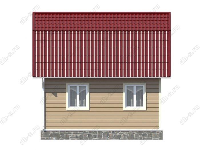 Строительство каркасных домов 6х4.5 под ключ