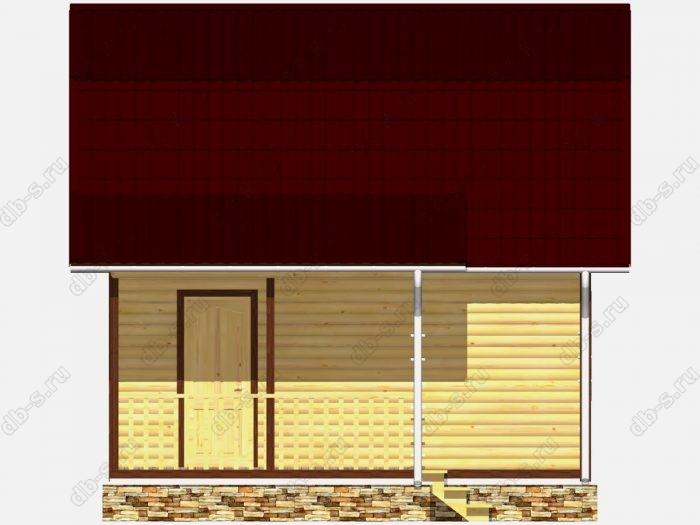 Строительство домов под ключ 6х4.5 из профилированного бруса