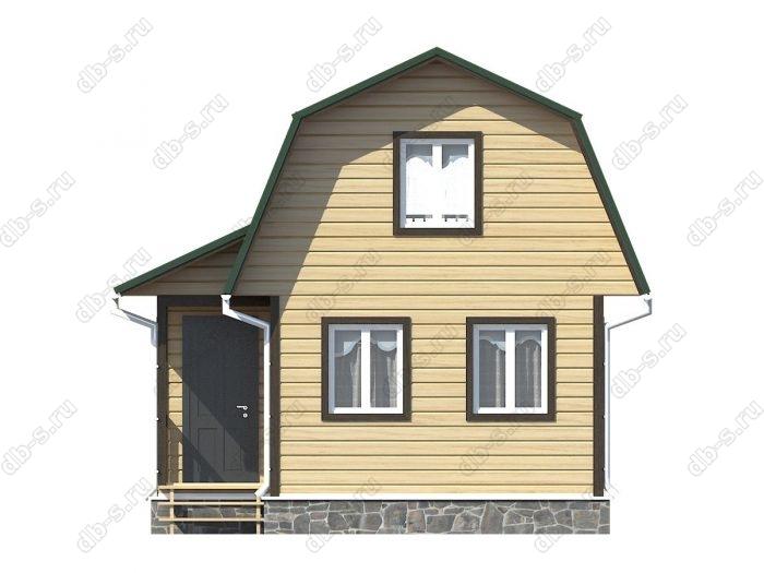Фото каркасного дома под ключ 4.5 на 6