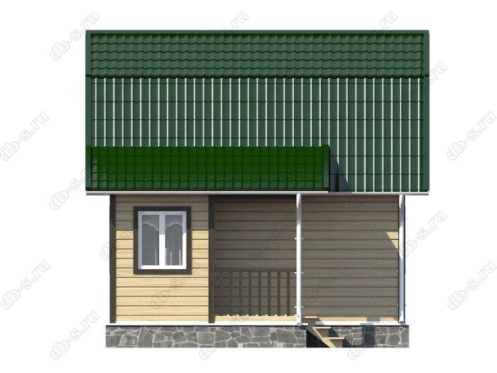 Каркасный дом 4.5х6 ломаная крыша вальмовая крыша