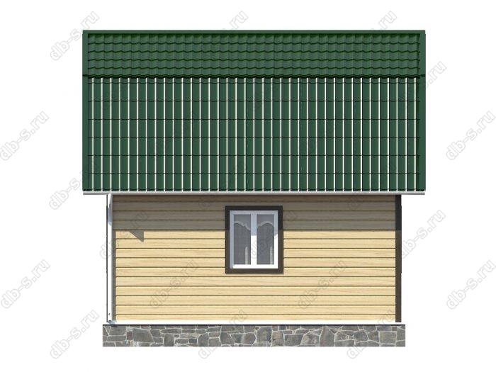 Строительство каркасных домов 4.5х6 под ключ