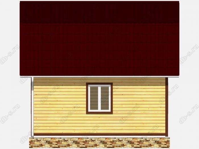 Строительство домов под ключ 4.5х6 из профилированного бруса