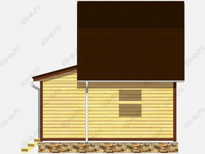 Сруб дома 6х6 ломаная крыша вальмовая крыша