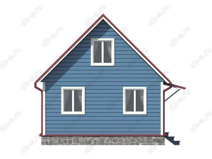 Фото каркасного дома под ключ 6 на 4
