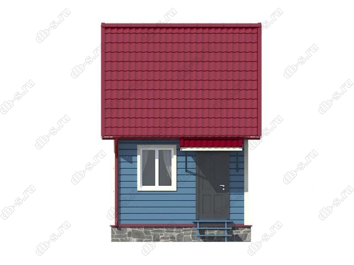 Строительство каркасных домов 6х4 под ключ