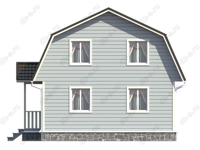 Фото каркасного дома под ключ 9 на 7