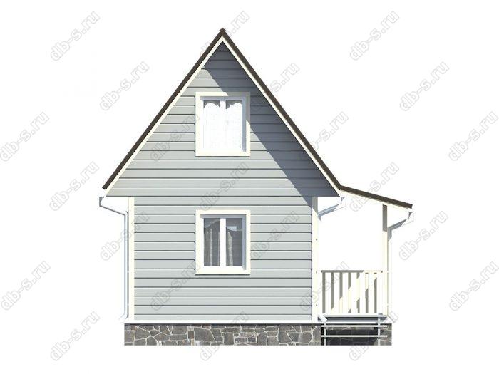 Фото каркасного дома под ключ 5.5 на 5