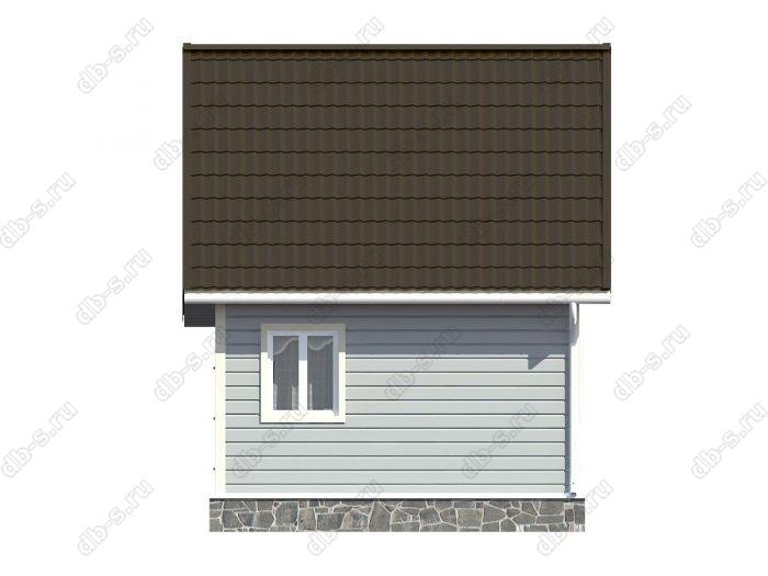 Строительство каркасных домов 5.5х5 под ключ