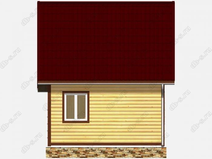 Строительство домов под ключ 6х4 из профилированного бруса