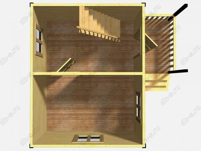 Проект дачного дома 6 на 4