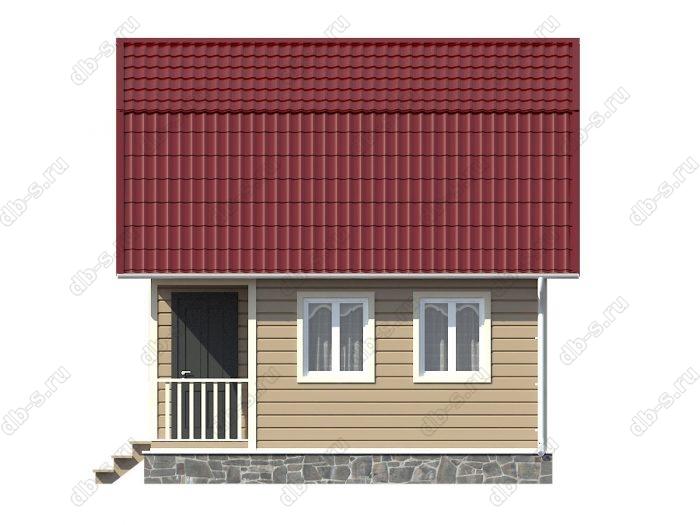 Каркасный дом 6х6 ломаная крыша вальмовая крыша