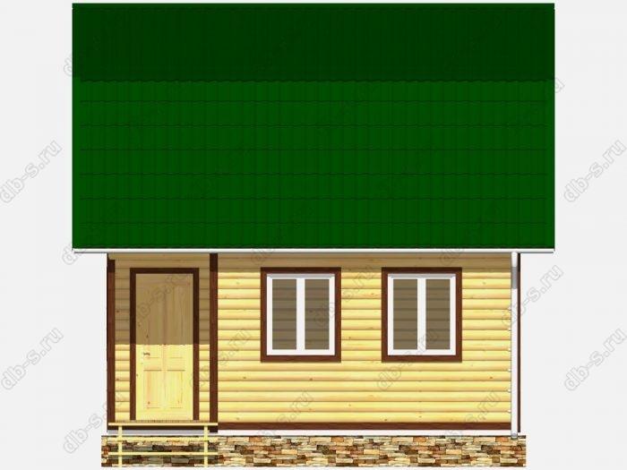 Дом из бруса 6х6 ломаная крыша вальмовая крыша