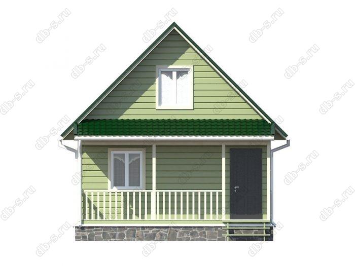Фото каркасного дома под ключ 6 на 7.5