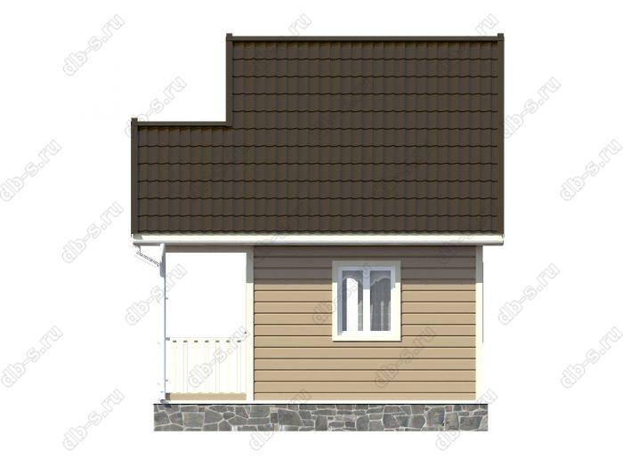 Строительство каркасных домов 5х4 под ключ