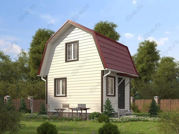 Проект с мансардой 5 на 4 каркасный дом под ключ ломаная крыша вальмовая крыша