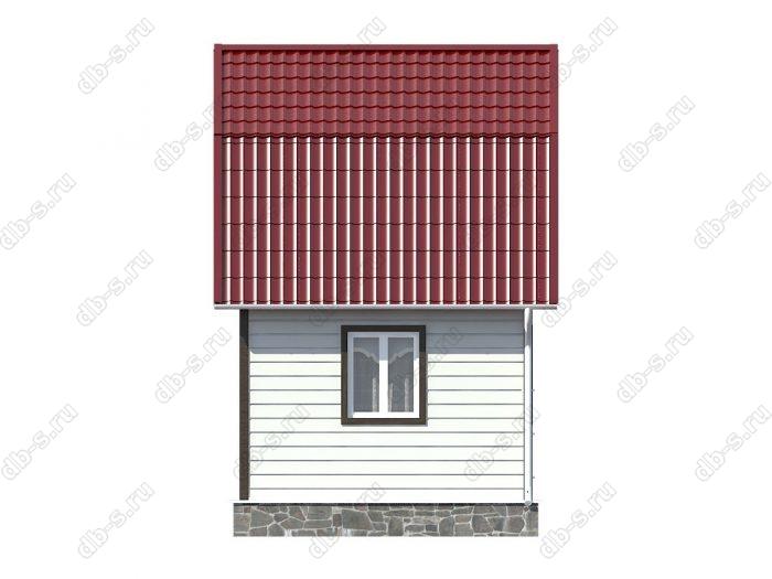 Каркасный дом 5х4 ломаная крыша вальмовая крыша