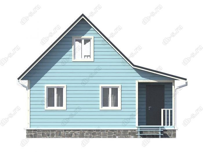 Фото каркасного дома под ключ 8 на 6