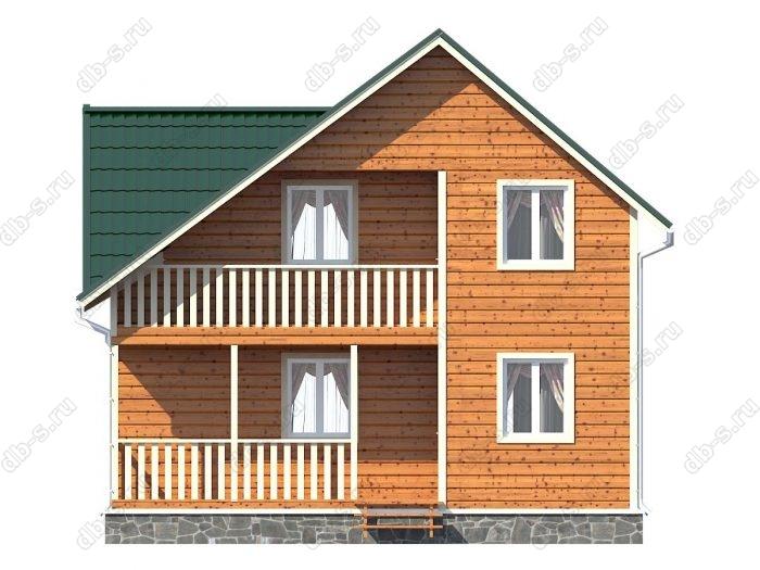Фото каркасного дома под ключ 6 на 8