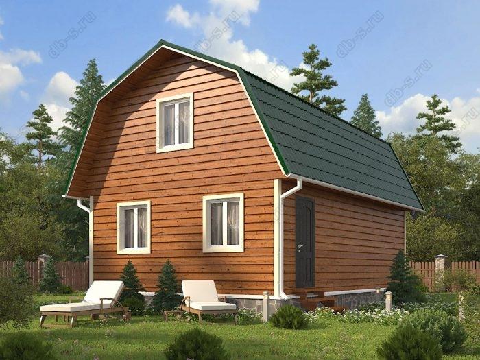 Проект с мансардой 6 на 9 каркасный дом под ключ ломаная крыша вальмовая крыша