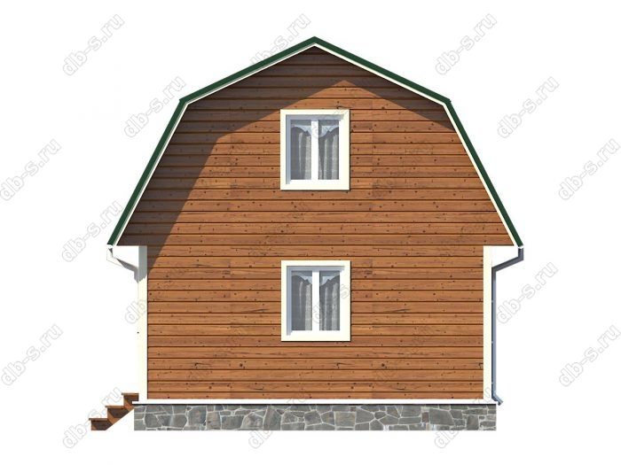 Проект каркасного дома площадью 94.5кв.м.