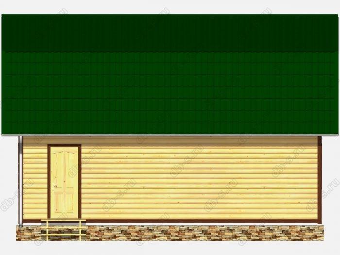 Дом из бруса 6х9 ломаная крыша вальмовая крыша