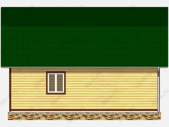 Строительство домов под ключ 6х9 из профилированного бруса