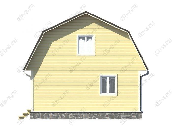 Фото каркасного дома под ключ 7 на 7