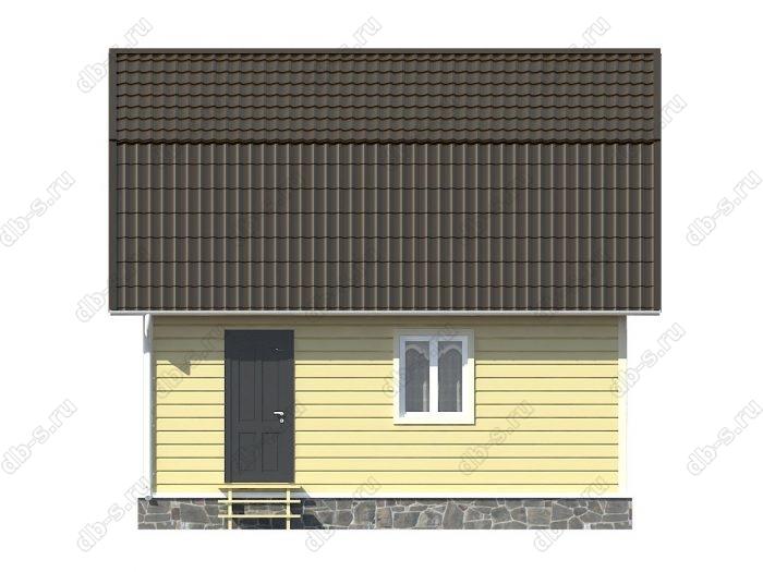 Каркасный дом 7х7 ломаная крыша вальмовая крыша