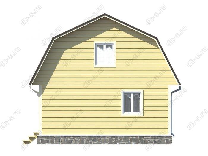 Проект каркасного дома площадью 83.5кв.м.