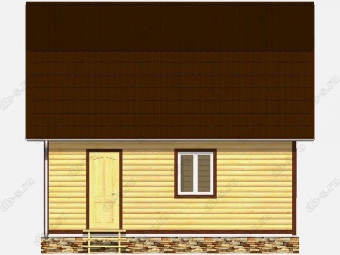 Дом из бруса 7х7 ломаная крыша вальмовая крыша