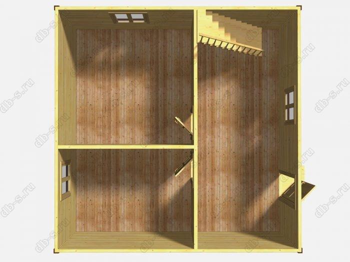 Проект дачного дома 7 на 7