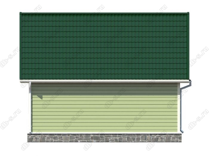Проект каркасного дома площадью 80кв.м.