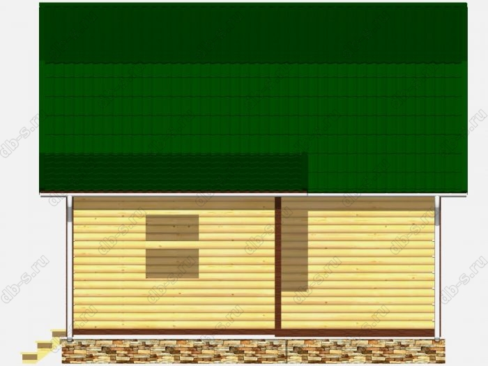 Сруб дома 6х7 ломаная крыша вальмовая крыша