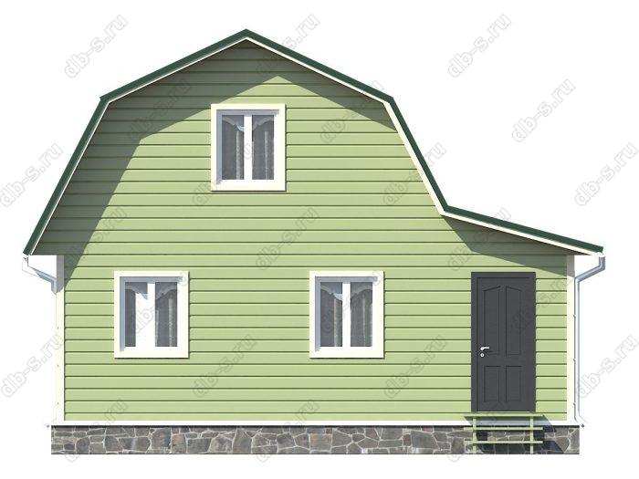 Фото каркасного дома под ключ 6 на 7