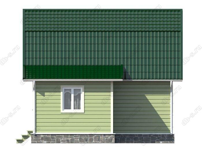 Каркасный дом 6х7 ломаная крыша вальмовая крыша