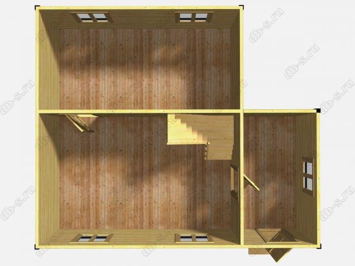 Проект дачного дома 6 на 7