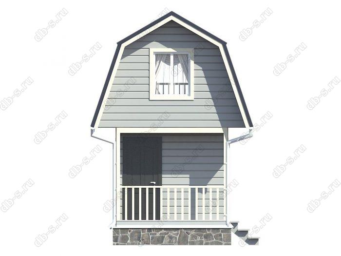 Фото каркасного дома под ключ 5 на 3