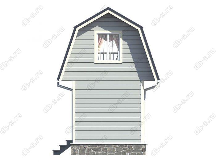 Проект каркасного дома площадью 22кв.м.