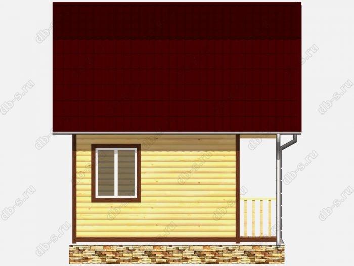 Строительство домов под ключ 5х3 из профилированного бруса
