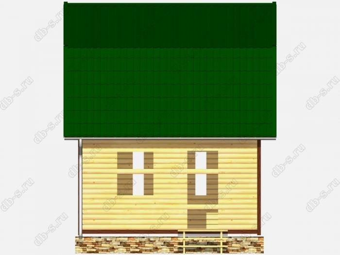 Сруб дома 6х5 ломаная крыша вальмовая крыша